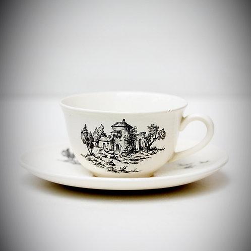 Fransız Vintage Çay Fincanı