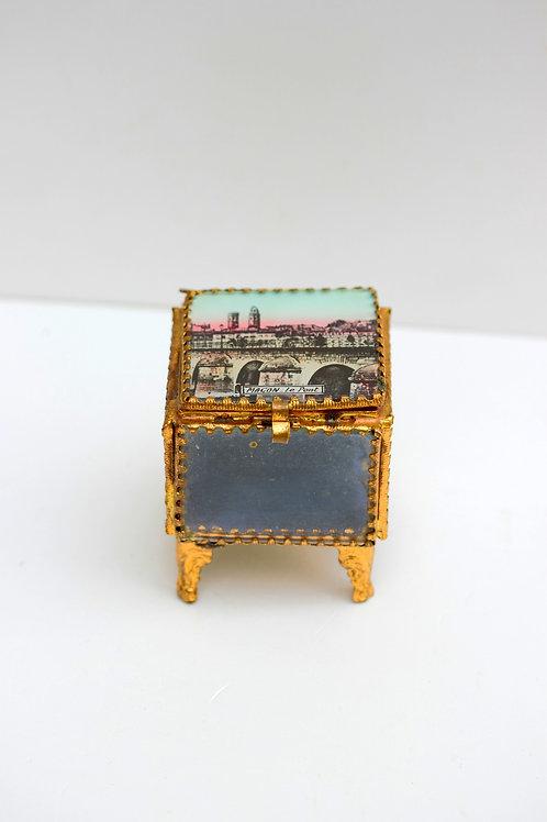 Vintage Mücevher Kutusu