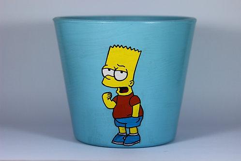 Boyalı Saksı - Bart Simpson