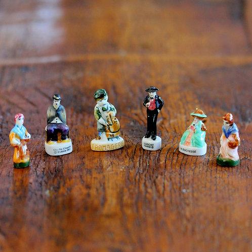 Porselen Fasulye Biblo 6lı koleksiyon