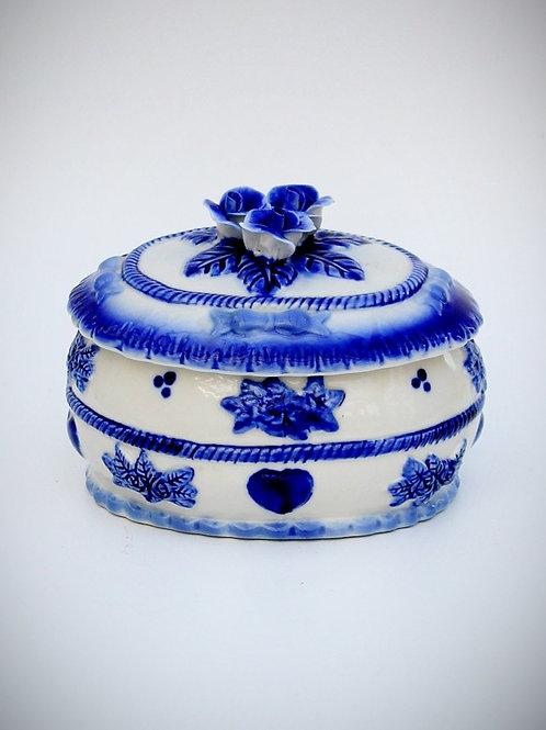 Dönem İtalyan Porselen Şekerlik