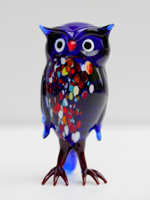 Murano Cam minyatür - Baykuş