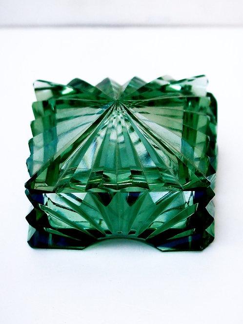Vintage Kristal Cam Kutu