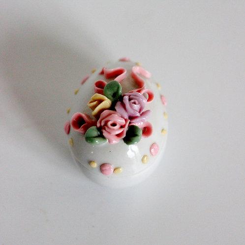 İtalyan Küçük Porselen Kutu