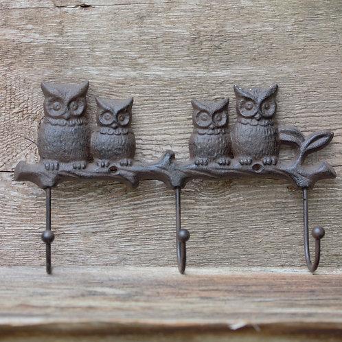 Dört Baykuşlu Askı