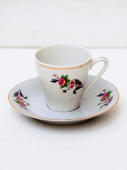 1970 ler İstanbul Porselen Kahve Fincanı