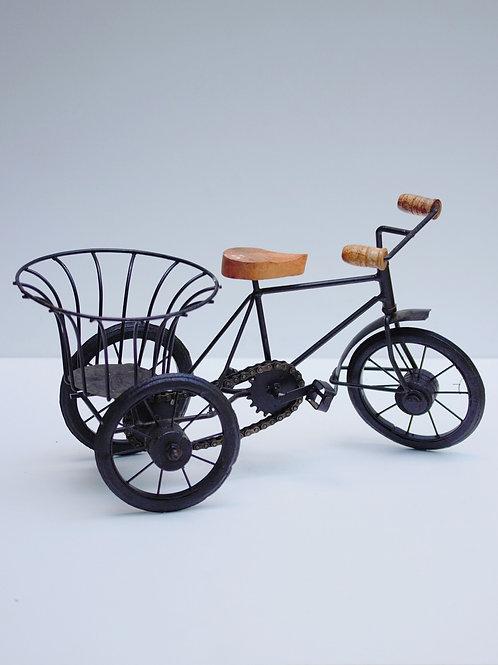 Metal Sepetli Bisiklet