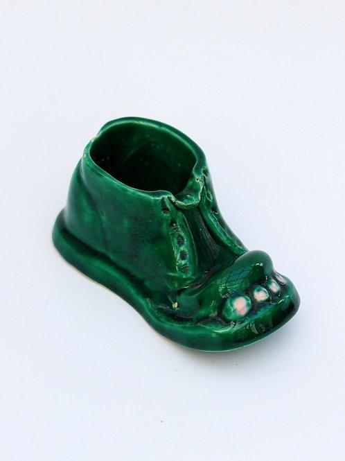Porselen Ayakkabı şeklinde Biblo