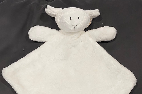 Little Lamb baby comforter with a zip for storage