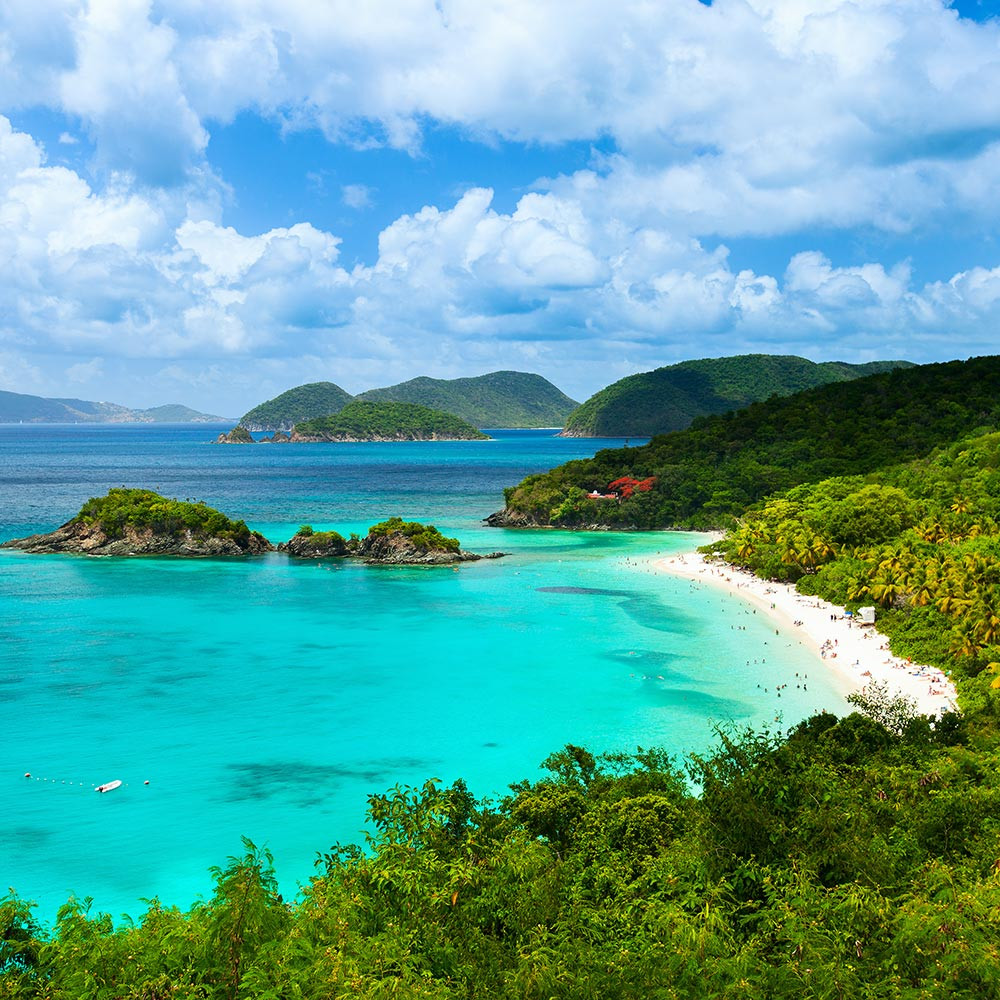 Trunk Bay Saint John USVI National Park