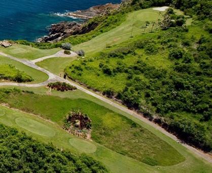 Golfing in St. John