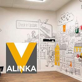 Alinka Vinil, diseño de interiores con vinilos decorativos