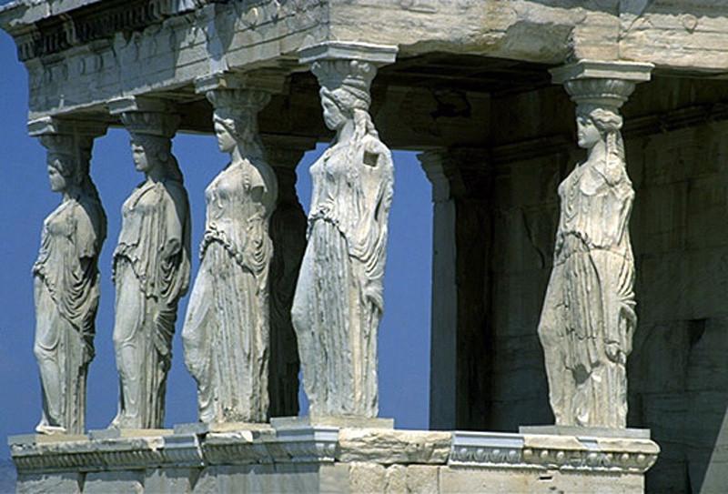 Detalle en templo griego