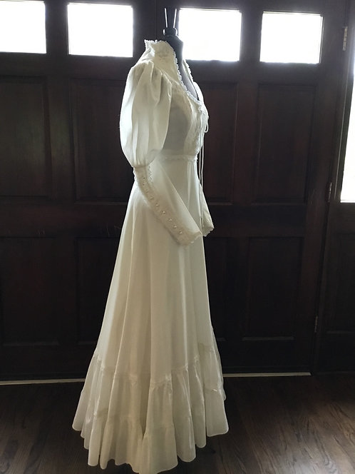 AUTHENTIC Gunne Sax Cotton Bridal