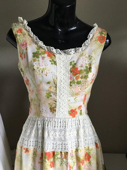 Lanz Original - Springtime Floral Sundress