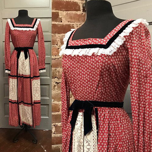 """Gunne Sax """"Style"""" Praire Dress"""