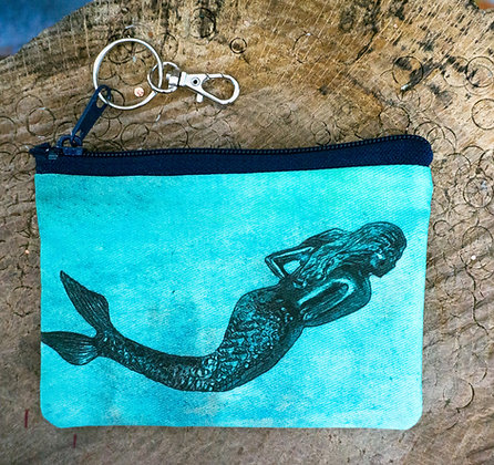 Aqua Mermaid Mini Clutch