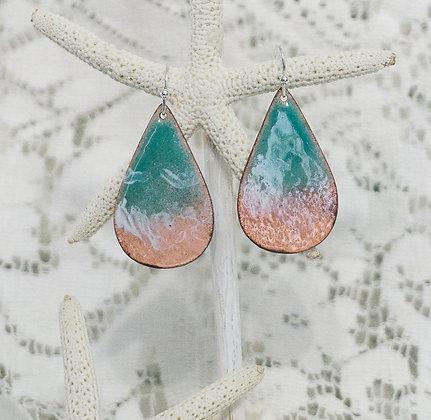 Beaches - Aruba ocean drop earrings