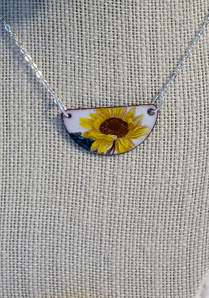 Hand-painted Jewelry - Sunflower Small
