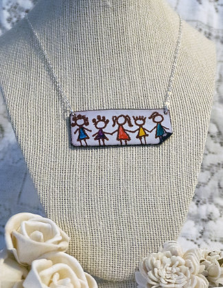Hand-painted jewelry - Children/1-Large