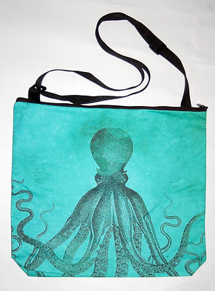 X-large Aqua Octopus Bag