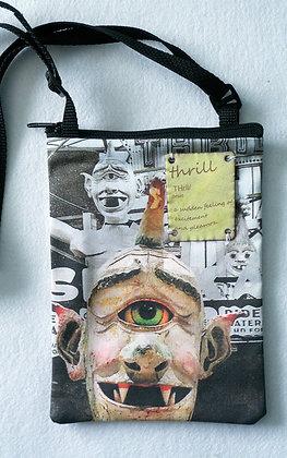 Fun House - cross-body art bag