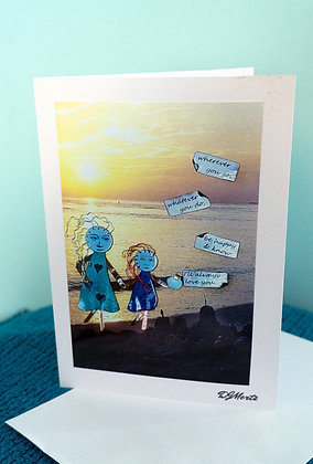 """I'll always love you"" - greeting card"