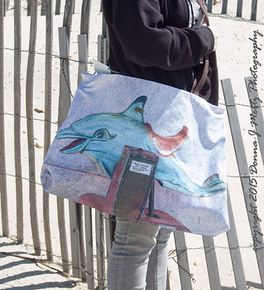 Dolphin Ride - Beach/Over-night Bag