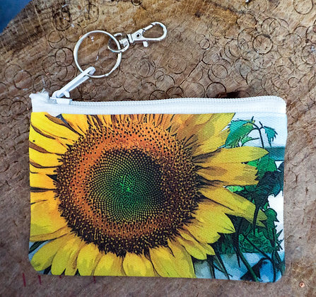 Sunflower Mini Clutch