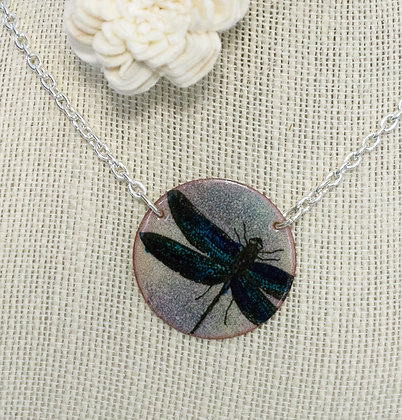 Dragonfly on Multi - Necklace