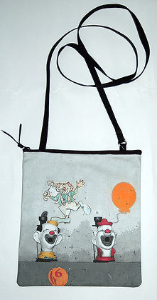 Cross-body Bag - Clown Game