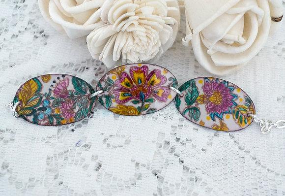 Floral Fantasy Wrist Garden - Bracelet