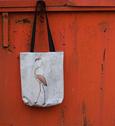 Flamingo Art Large Tote Bag