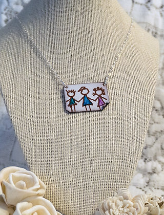 Hand-painted jewelry - Children/2 small