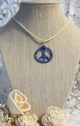 Peace & Flowers necklace