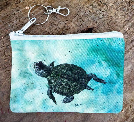 Terrapin Turtle Mini Clutch
