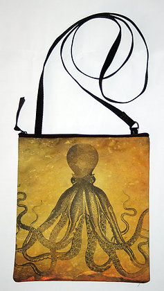 Cross-body Bag - Amber Octopus