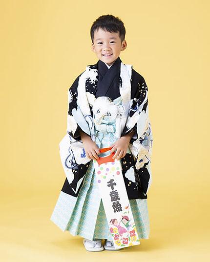 五歳男の子袴
