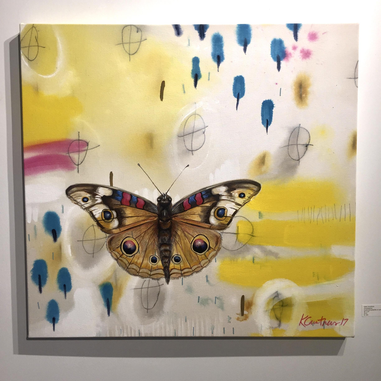 Convergence, Acrylic on canvas, 32x34