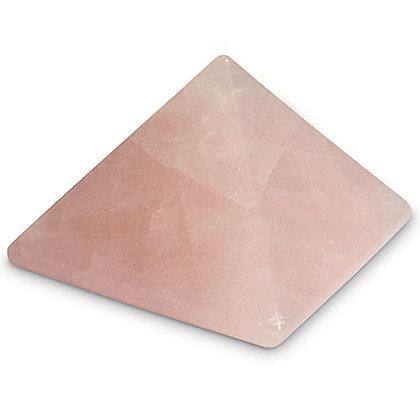 Pyramide en Cristal de Quartz Rose