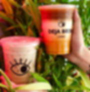 New drinks! Banana spiced chai & tiger l