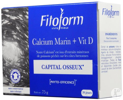 Calcium Marin et Vitamine D