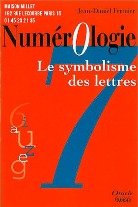 Numérologie - symbolisme des lettres