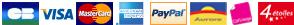 Paiement Paypal et CB