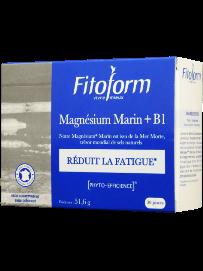 Magnésium Marin + vitamines B1, un coup de boost