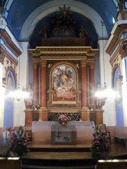Interior Iglesia de Palanques