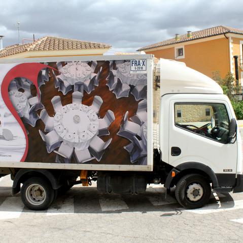 El Faixero camión