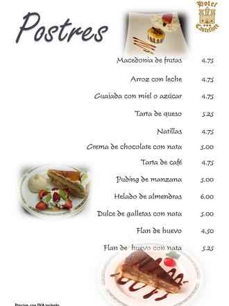 CARTA - Hotel Castellote