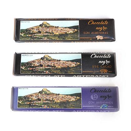 Pack de 3 chocolates de 300g a elegir
