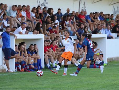 Agua l'Avellà y el pueblo de Catí apoyando el futbol femenino